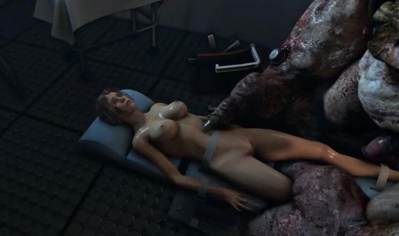 Chicas Hentai 3D folladas brutalmente por monstruos de pollas gigantes