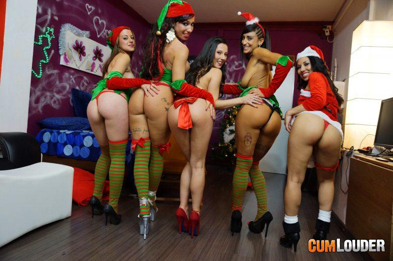 Elfas mostrando sus culos