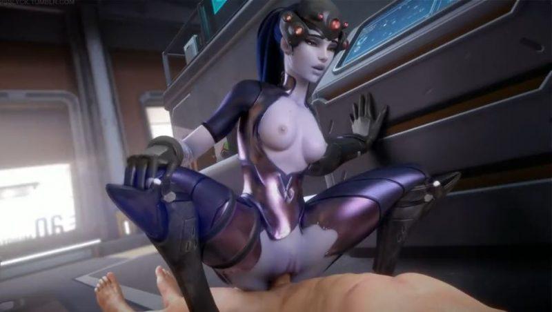 El mejor porno de Overwatch